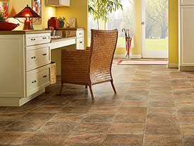 Vinyl Flooring World Floor Covering Association - Shiny lino flooring